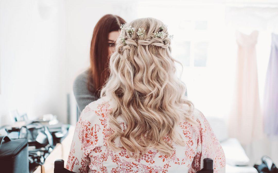 Beautiful Bridal Hair by RKW Hair